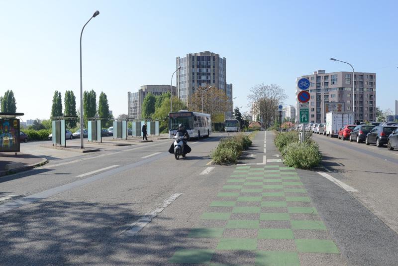 tracé boulevard intercommunal du parisis