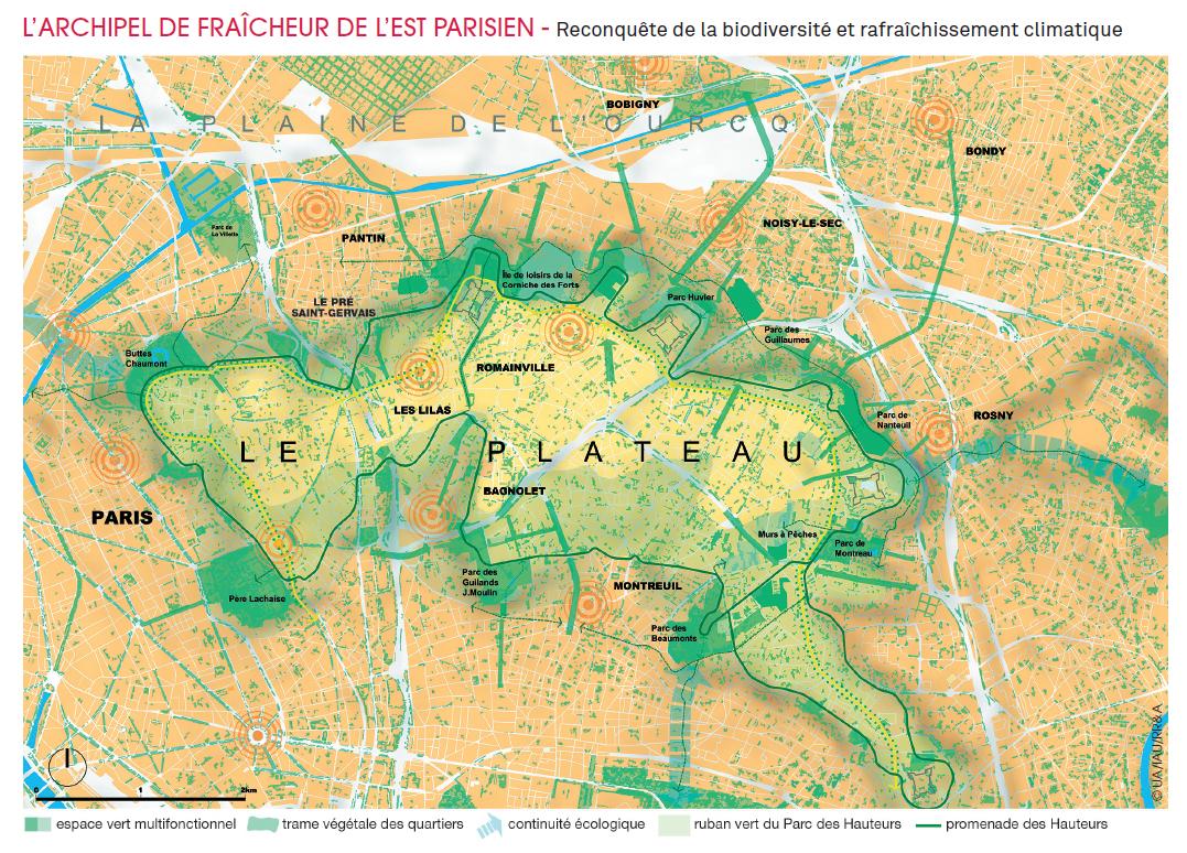 Parcs des coteaux du Plateau CartePDH3