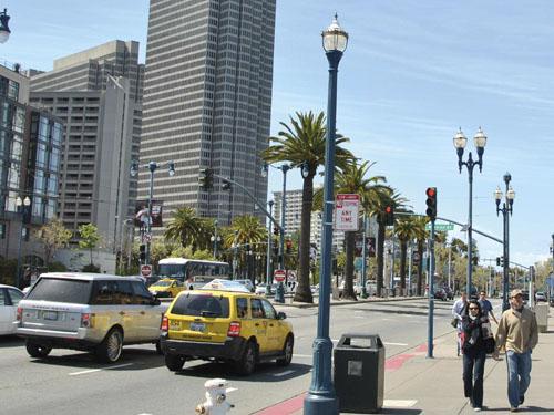 San Francisco : Embarcadero Freeway