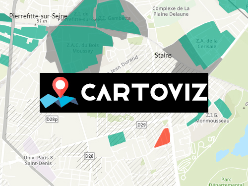 Cartographies interactives - Cartoviz