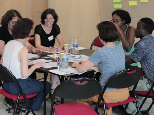 "Le World café Formation ""Outils de participation"" 4/6"