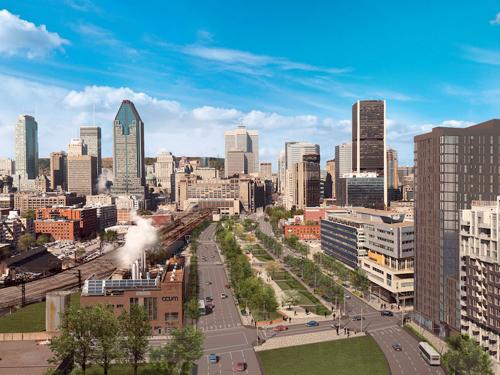 Montréal : projet Bonaventure