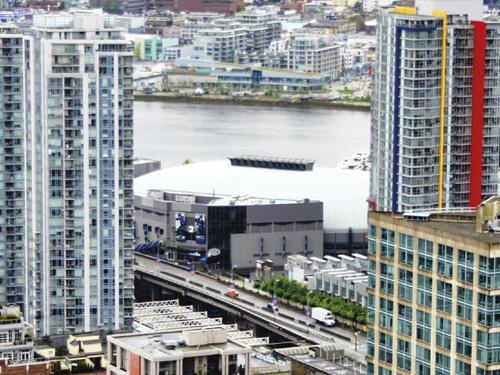 Vancouver : viaducs Dunsmuir & Georgia